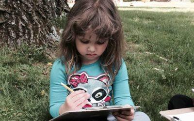 Domácí vzdělávání v plném proudu (Očima vychovatelky a chůvy Jarky)